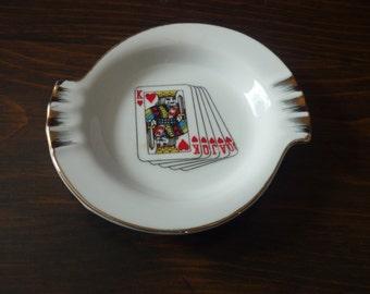 Brinn's of Pittsburgh Royal Flush small ashtray