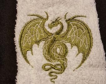 Celtic Dragon Towel