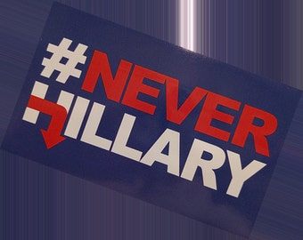 NeverHillary Bumper Sticker