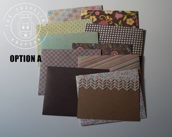 A6 Envelopes with Note Cards / Stationery / Hand Made Stationery / Envelopes / Note Cards