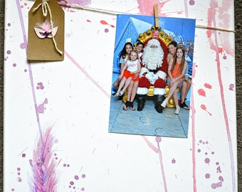 Photo Display Canvas - Feather