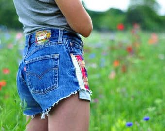 LEVIS SHORTS 501 CUSTOMISED
