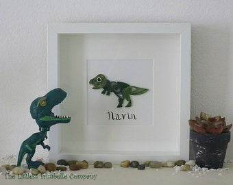 Personalised Quilled Dinosaur