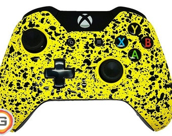 Sizzling Sunrise (Yellow) Custom Xbox One Controller with Customised Side Rails