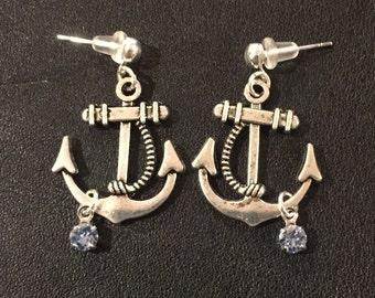 Keep Me Anchored Earrings