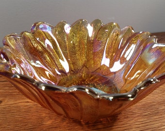 Lily Pons Candy Dish /Nappy Bowl by Indiana Glass Company