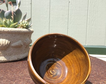 Tenmoku and Brown Black Glazed Tea Bowl