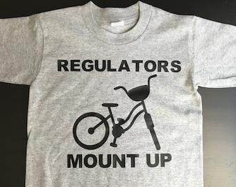 Regulators on Bike