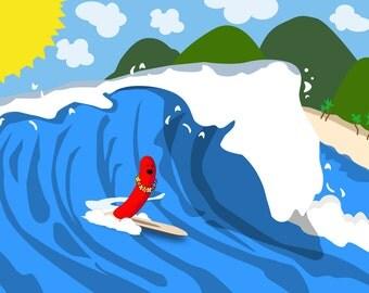 Tsunami Hot Dog