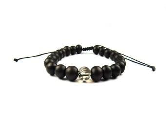 Men's Smokey Quartz Power Bracelet