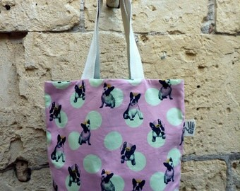 Bag pink frenchies