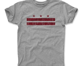 Washington D.C. Flag R Toddler and Youth T-Shirts (am)