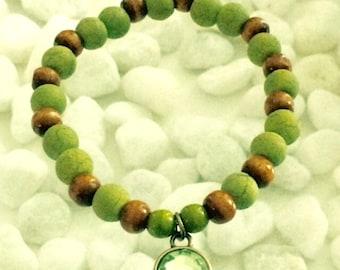Earthy Bohemian bracelet
