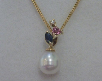south sea pearls pendant