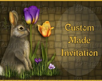 Custom Made Birthday Invitation