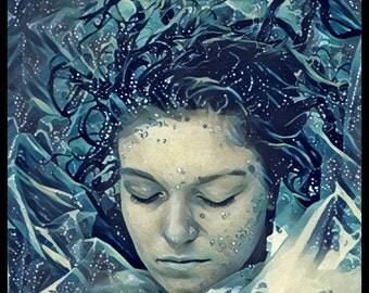 Twin Peaks - Laura Palmer poster Print (fan art graphic)