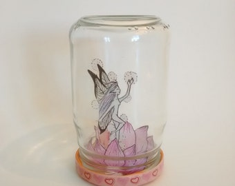 "Fairy in a jar ""Night dancer"""