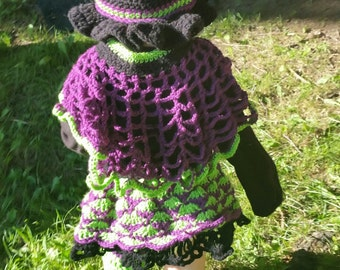 2t -3t little witch Halloween costume