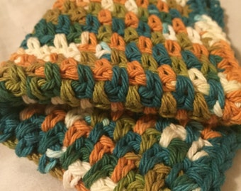 Moss Stitch Dish Cloth