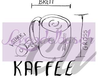 Coffee - Digistamp digital stamp (CU)
