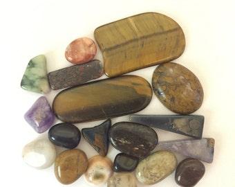 Polished Stones, Rocks, & Minerals