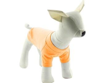 Orange Dog T-Shirt - Dog Tees - Dog Shirts - Pet Shirts - XXS to XXL