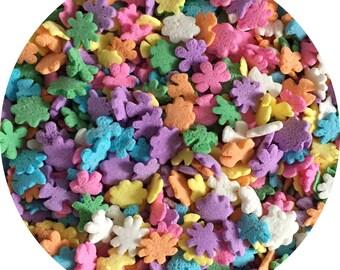 Flower Quins Cupcake and Cookie Sprinkles, Baking sprinkles, Cupcakes, Cookies
