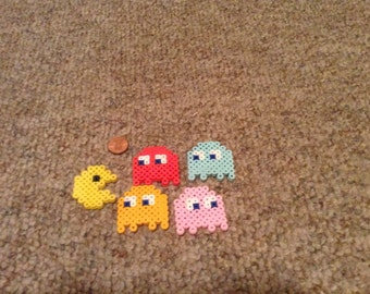 Pac Man Magnets