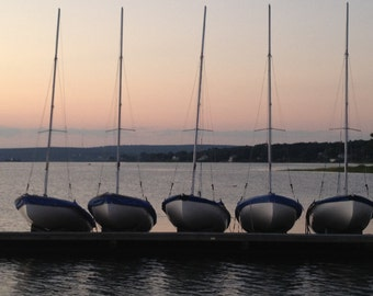 July 18, on the dock of the Plymouth Yacht Club.