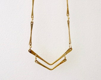 bronze necklace - ETALPALLI