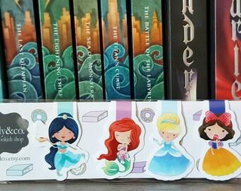 Fairy Tale Princess Magnetic Bookmarks (Set A)