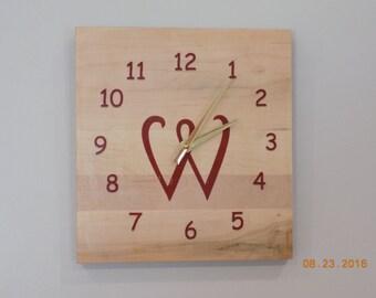 Monogrammed Clock