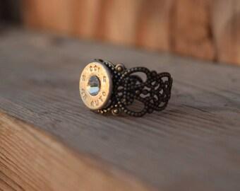 45AUTO Bullet Ring