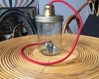 """""""Le Parfait"""" jar lamp"""