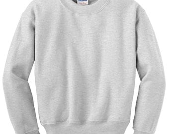 Custom Photo Imprinted  Cotton Crewneck Photo Sweatshirts