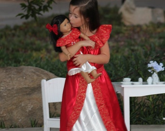 Elena of Avalor Dolly and Me Matching Dress / Elena of Avalor Costume
