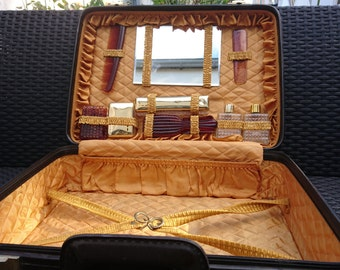 Vintage French Grooming Vanity Case