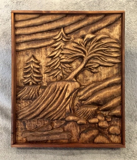 Items similar to west coast canada wood carving