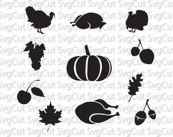 Thanksgiving svg, Turkey svg,fall svg, Designs Svg cutting file, Cricut Design Space, Silhouette Studio,Digital Cut Files