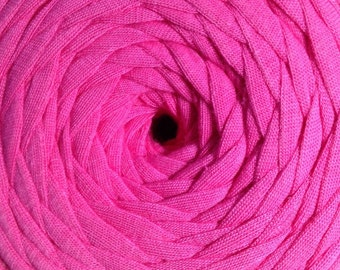 Nif-T tshirt yarn: Hot Pink
