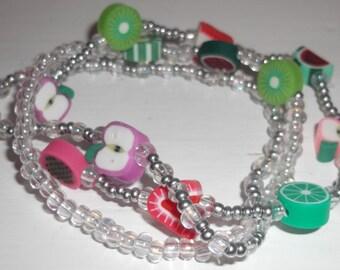 Fruity bracelet set