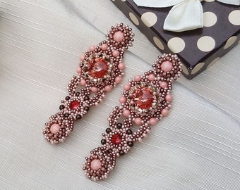 Elegant Crystal Statement Earrings