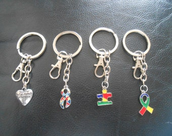 Awareness Keyring and Keychain