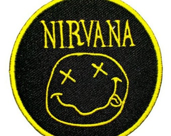 NIRVANA Songs Music Band t Shirts MN01 Iron on Patches