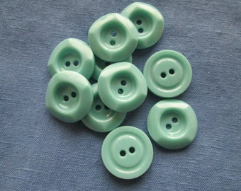 Vintage mint buttons (set of 10)