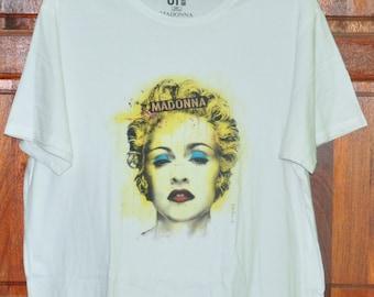 Vintage Madonna T Shirt Singer Punk XXL Size