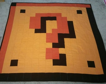 Question Mark Quilt (?)
