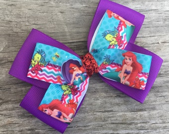 Ariel Bow / Little Mermaid Bow