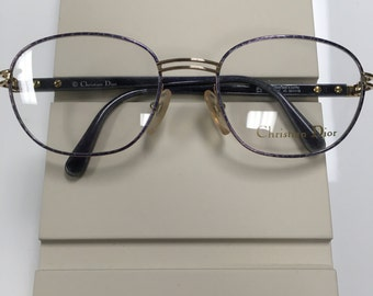 New Women's Christian Dior Glasses 2887 Gold Frame and Pink/Gold Frame