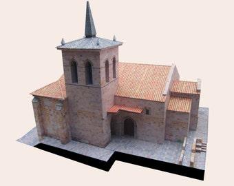 Romanesque church of San Cipriano-Zamora